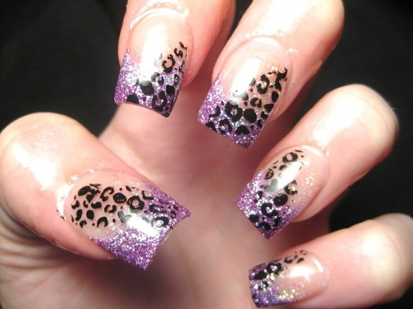 nail-art-animal-printed