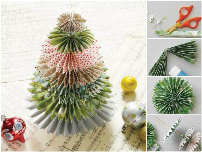creative-ideas-diy-festive-paper-christmas-tree