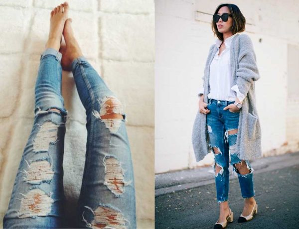 Ripped Jeans: Πως να σκίσετε τα Τζιν σας