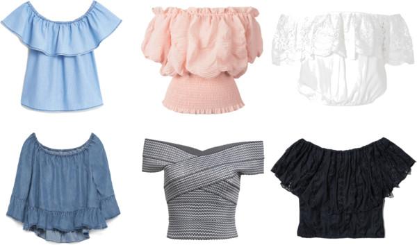 eadf88d18205 Μπλούζες Off Shoulder- Το trend του Καλοκαιριού!