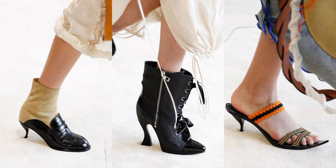 e84f9553df7 Loewe παπούτσια άνοιξη/καλοκαίρι 2017. Παπούτσια Άνοιξη 2017: Τα trends από  το Fashion Week στο Παρίσι