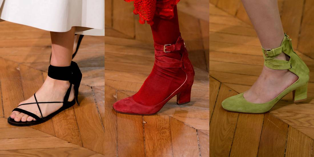 d879daa1aca Valentino παπούτσια άνοιξη/καλοκαίρι 2017. Παπούτσια Άνοιξη 2017: Τα trends  από το Fashion Week στο Παρίσι