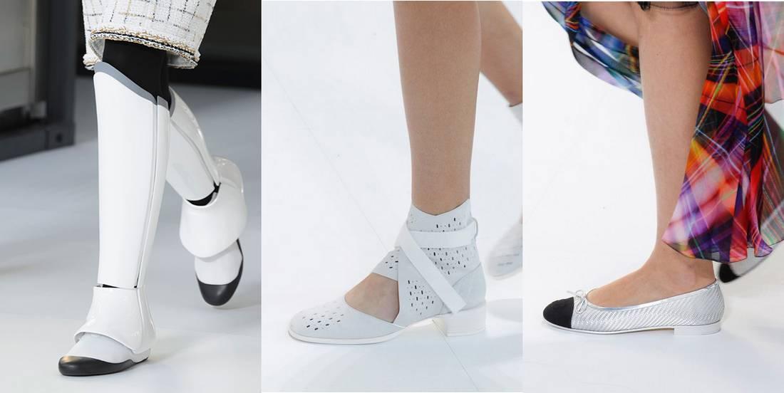 ec35eccdcbf Chanel παπούτσια άνοιξη/καλοκαίρι 2017. Παπούτσια Άνοιξη 2017: Τα trends  από το Fashion Week στο Παρίσι