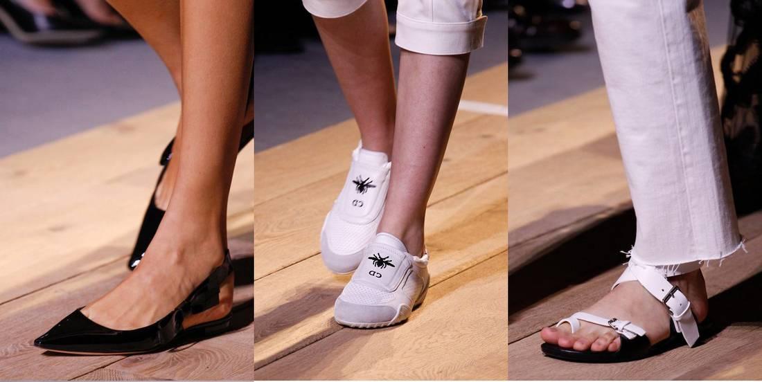 42126fac829 Christian Dior παπούτσια άνοιξη/καλοκαίρι 2017. Παπούτσια Άνοιξη 2017: Τα  trends από το Fashion Week στο Παρίσι