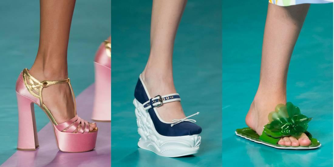 7471eb4456f Miu Miu παπούτσια άνοιξη/καλοκαίρι 2017. Παπούτσια Άνοιξη 2017: Τα trends  από το Fashion Week στο Παρίσι