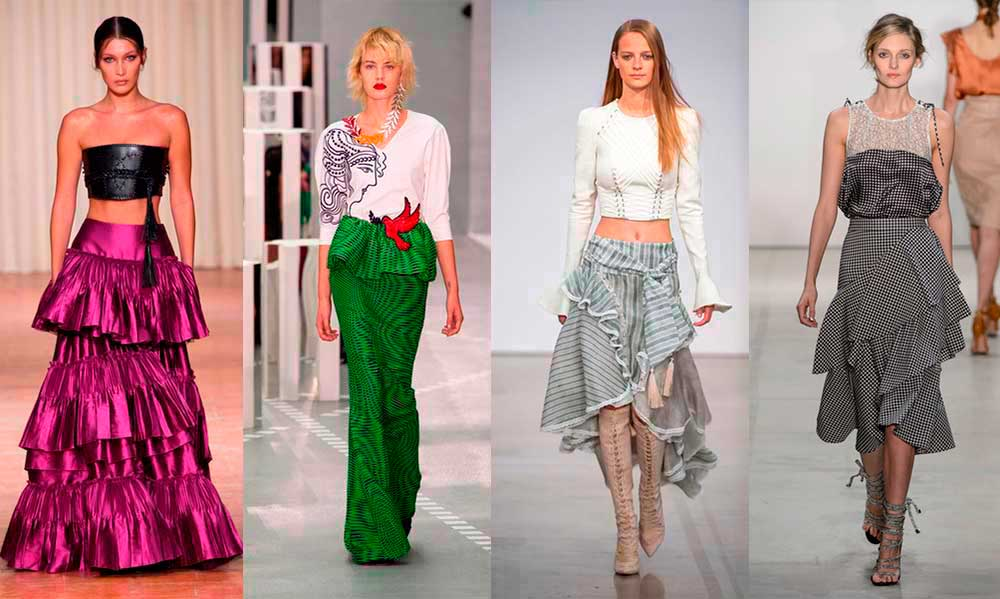 0e244c50db4a Fashion Week Trends: Μόδα Άνοιξη Καλοκαίρι 2017   womanoclock.gr