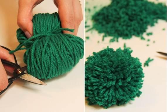 DIY: Φτιάξε μόνη σου ένα Υπέροχο Χαλάκι Pompom