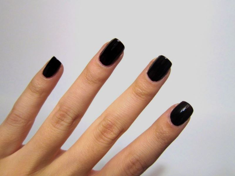 Black Nails Designs Tumblr Womanoclock